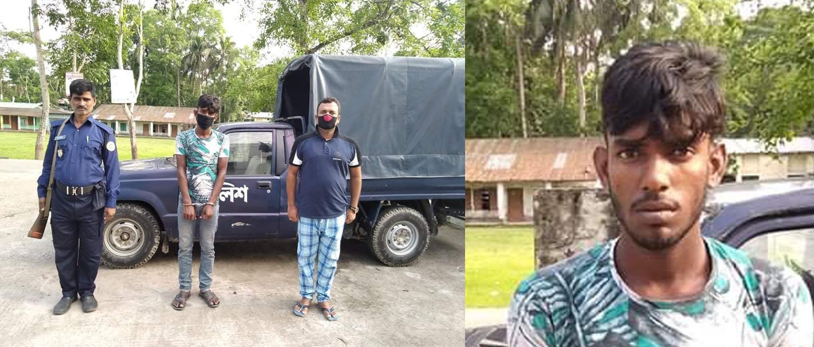 বাবুগঞ্জের আগরপুরে ইয়াবাসহ মাদক বিক্রেতা আটক