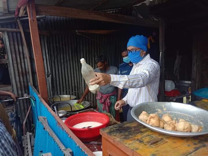 বাবুগঞ্জে মোবাইল কোর্টের অভিযানে অর্থদণ্ড